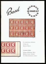 FRANCE, the GILL-BURRUS collections II, March 1967, auction catalogue