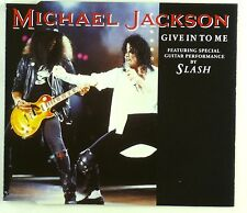 Maxi CD - Michael Jackson - Give In To Me - A4497