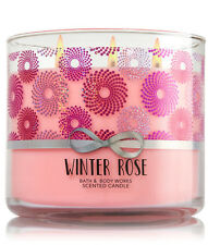 Bath & Body Works Winter Rose 14.5 Ounces Scented Candle Retail $22.50