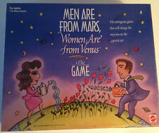MEN ARE FROM MARS, WOMEN ARE FROM VENUS THE GAME-JOHN GRAY by MATTEL  SEALED NIB