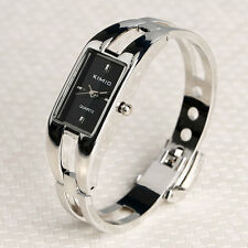 KIMIO Stainless Steel Quartz Suqare Bracelet Bangle Wrist Watch Women Lady K0401