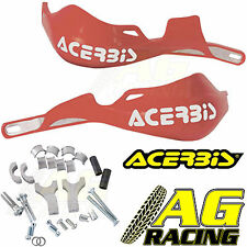 Acerbis Rally Pro Red Handguards Motocross Enduro 22mm Oversize 1 1/8 Bars