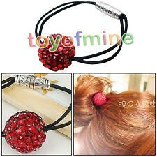 Fashion Small Jewelry Small Pepper Drilling Big Red Ball  Hair Accessories