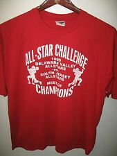 Delaware Valley South Jersey All Stars 1999 Wrestling Champions Match T Shirt XL