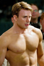 Chris Evans 24x36 Poster barechested beefcake photo