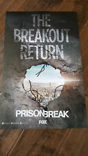 2016 SDCC COMIC CON EXCLUSIVE FOX POSTER PRISON BREAK MILLER PURCELL CALLIES