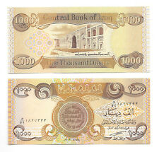 1,000 Iraqi Dinar 1000 Iraq - Unc. Lot of 1 - From A Bundle - Only 32 Sets Left