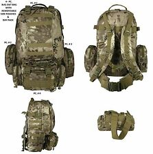 4PC Highland Backpack Bug Out Bag / Tactical / Military / Survival Gear Day Pack