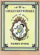 Trophy Picture Bks.: Chicken Soup with Rice : A Book of Months by Maurice...