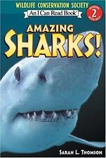 Amazing Sharks! (I Can Read Book 2)-ExLibrary
