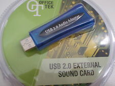 Sound Card Usb 5.1 External Replaces Faulty Sound Cards In Pc Notebook Laptops