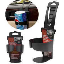 Universal Vehicle Car Truck Door Mount Drink Bottle Cup Holder Stand Black JP
