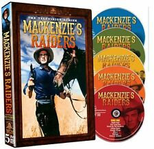 Mackenzie's Raiders Complete Series DVD Set TV Show Collection Episode Westerns