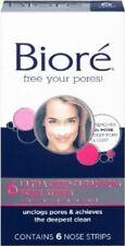 Biore Ultra Deep Cleansing Pore Strip 6ct