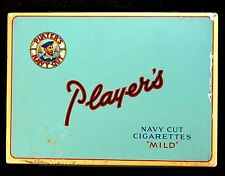 PLAYER'S NAVY CUT CIGARETTES TIN