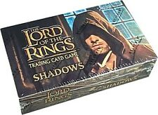 LOTR LORD OF THE RINGS TCG : SHADOWS BOOSTER BOX SEALED NEW