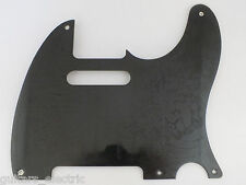 Aged BLACK BAKELITE SCRATCH PLATE Pickguard for early 1950's TELECASTER Tele