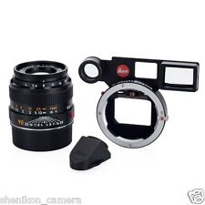 100% New Unused Leica MACRO-ELMAR-M 90mm F4 f/4 Adapter Anglefinder Set 11629
