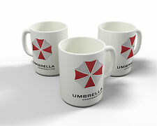Resident Evil Umbrella Corporation Mug / Cup 11oz Geek Gamer Retro