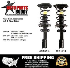 (2)Rear Complete Struts Impala/Monte Carlo/Intrigue Lifetime Warranty w/Shipping