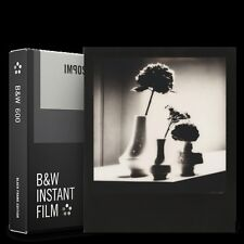 Impossible B+W Instant Film for Polaroid 600 - Black Frame Edition