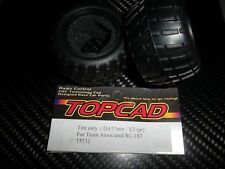 TOPCAD15131  pneus 57 mm pour ASSOCIATED RC-18T (x2)