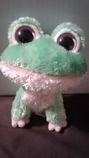 "TY - BEANIE BOO - 2009 Kiwi the Frog - 6"" - Rare Looped Tag - No Hang Tag"
