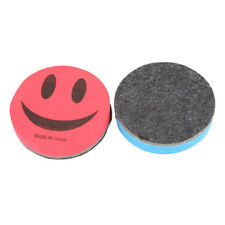 1PCS Chic Fashion Economic Smile Face Chalk Board Eraser New Brand Random