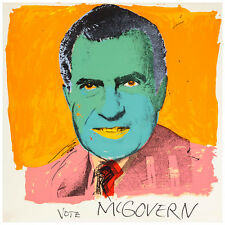 Vote McGovern by Andy Warhol 84cm x 84cm High Quality Canvas Art Print