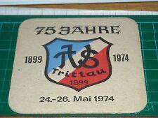 sottobicchiere beer mats birra bierdeckel 75 jahre 1899 1974 trittau