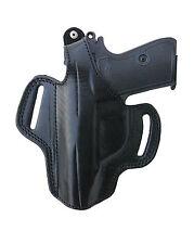 ETUIS pistolets universel gaucher pour 7,65 MM-Cuir-travail manuel noir