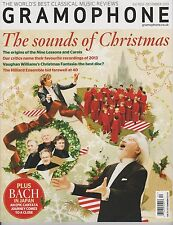 GRAMOPHONE MAGAZINE UK December 2013, The Sounds Of CHRISTMAS.
