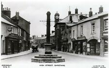 Garstang High Street unused sepia RP old postcard Lilywhite Excelent condition
