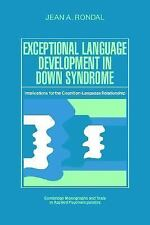 Exceptional Language Development in Down Syndrome: Implications for th-ExLibrary
