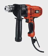 "New BLACK & DECKER VSR Drill Driver 1/2"" Keyed Chuck 7.0 Amp Power Tool DR560"