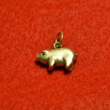 James Avery 3D Pig Sterling Silver Retired Charm