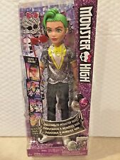 MONSTER HIGH WELCOME TO MONSTER HIGH DEUCE GORDON BOY DOLL BRAND NEW FOR 2016