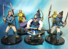 Dungeons & Dragons Miniatures Lot  Elite City Guards & Soldiers !!  s101
