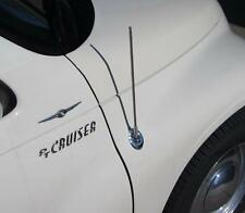 "Chrylsler PT CRUISER Screw-in Antenna Antenna Cromata Mast 21"" lunghi (55 cm)"