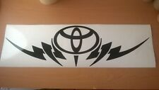 LARGE toyota tribal car bonnet hood vinyl sticker graphic decal rear window fun