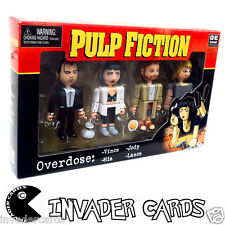 Pulp Fiction Overdose Vince Jody Mia Lance 4 Pack NECA Rare Movie Figures Set
