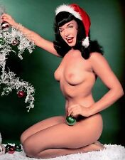 BETTIE PAGE HUGE ABSOLUTELY STUNNING Art Waterproof Poster 24x36Inch
