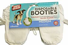 48 Lightweight Disposable Non-Skid Medium 40-60lb Dog Puppy Boots Booties