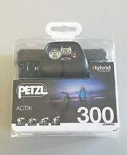 Petzl Actik 300 Headlamp Hybrid Concept 300 Lumens Headlamp *NEW* FREE Shipping!
