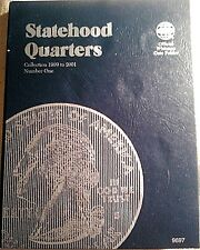 Whitman Washington Statehood Quarters 1999-2001 Coin Folder, Album Book #9697