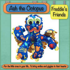 ASH THE OCTOPUS SEWING CRAFT PATTERN, From Freddie's Friends NEW
