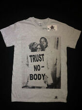 Tu-Pac y Biggie Camiseta Gris (Notorious Big, rap, el hip-hop), Medio