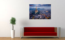PARIS CITY LIGHTS NEW GIANT LARGE ART PRINT POSTER PICTURE WALL