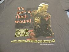 Monty Python The Holy Grail - It's Just A Flesh Wound T-Shirt Adult Large Ex.
