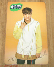 EXO SUNNY10 SUNNY 10 SUNNY TEN EXO-K KAI PHOTOCARD PHOTO CARD SEALED